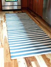 striped runner rug a painter and dash rug a kitchen update
