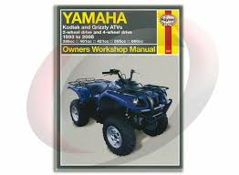 haynes and clymer atv utv repair manuals sixity com 2003 2005 yamaha kodiak 450 haynes repair manual 2567 shop service garage