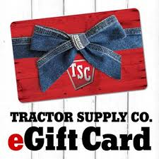 eGift Card at Tractor Supply Co.