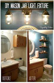 easy diy mason jar light fixture step by step free tutorial