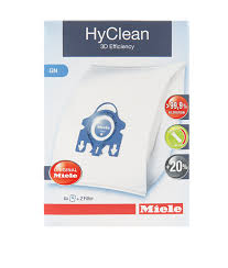 <b>Miele</b> vacuum <b>cleaner bags</b> – <b>GN</b> HyClean 3D – Pack of 4 ...