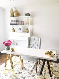 Office space in living room Apartment Chic Office Space Lady And The Blog Creating New Office Space Removed My Formal Living Room From The