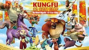 Kungfu 12 Con Giáp - Kung Fu Masters Of The Zodiac