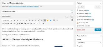 I Want To Build A Website For Free How To Create A Website Step By Step Guide For Beginners 2019