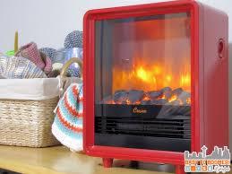 crane heater red electric fireplace heater creates a warm glow
