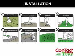artificial grass installation. Artificial Lawn Installation Instructions Grass
