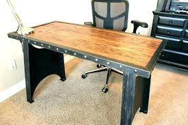 Industrial Office Design Ideas Adorable Industrial Reception Desk Small Industrial Desk Large Size Of Table