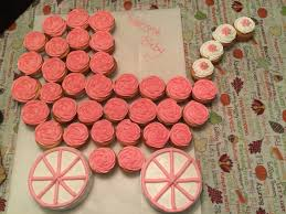 Custom Cakes And More Patacakebakers  Instagram Photos And VideosPull Apart Baby Shower Cupcakes