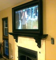 flat screen tv frame kit mirror over mantle with frame home decor ideas bedroom flat screen tv frame