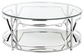edward round coffee table