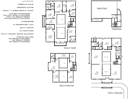 house plans interior courtyard pool home floor australia spanish