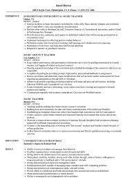 Music Education Resume Examples Music Teacher Resume Samples Velvet Jobs 4