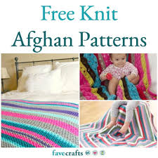 Free Afghan Knitting Patterns Circular Needles Magnificent 48 Free Knit Afghan Patterns FaveCrafts