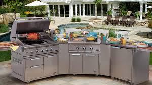 full kitchen outdoors