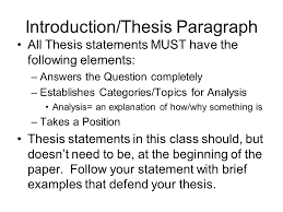 essay writing for history classes ppt video online  essay writing for history classes 2 introduction thesis paragraph