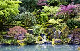 Japanese Garden Plants Japanese Garden Waterfall Pdx By Doubleagent Bobdeviantartcom On