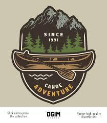 Emblem Design Vintage Camping Designs In 2020 Outdoor Logos Badge