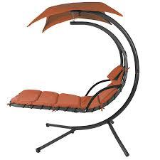 com best choice s orange color handing chair garden outdoor