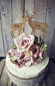 Deer Bride Groom Wedding Cake Topper Lover Hunting Hunter Camouflage