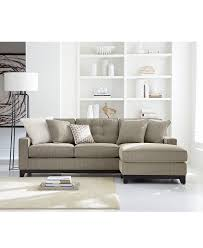 Sofas Living Room Clarke Fabric Sectional Sofa Living Room Furniture Collection