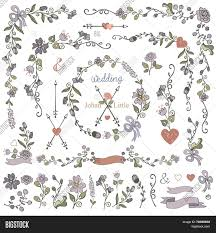 Easy To Make Border Designs Colored Doodles Vector Photo Free Trial Bigstock
