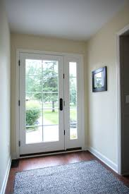 full glass exterior door. exterior doors | let the sunshine in with a full-lite glass and matching sidelight full door