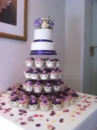 10 Top 2 Tier Wedding Cake With Cupcakes Photo Two Tier Cake With