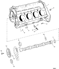 Cp performance cylinder block and camshaft