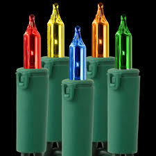 gki bethlehem heavy duty multi colored mini lights string light replacement clear bulb