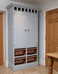 free standing kitchen pantry white