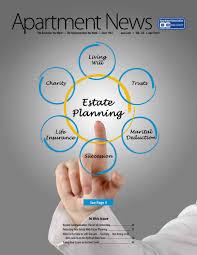 Real Estate License Portability Chart April 2019 Apartment News Magazine By Apartment Association