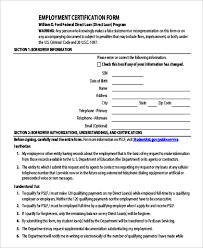 9 Sample Employment Request Forms Sample Templates