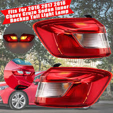 2012 Chevy Cruze Third Brake Light Replacement Us 53 54 37 Off Rear Taillight Lamp Stop Tail Rear Brake Light Reverse Light Tail Lights Led Lamp Harness For Cruze For Chevy Sedan 2016 2018 In Car