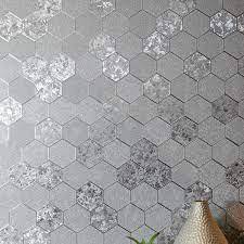 arthouse honeycomb silver foil metallic