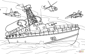 Small Picture Rocket Boat coloring page Free Printable Coloring Pages