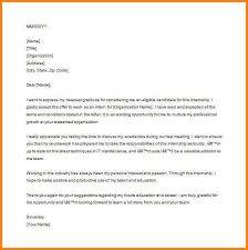 5 End Of Internship Thank You Note Example Shawn Weatherly
