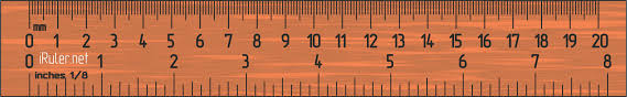 6 inch ruler actual size iruler net online ruler