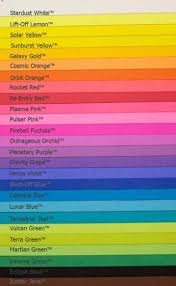 Color Chart For Clothes Goodwill Clothing Color Chart Google Search Paper Card