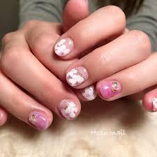 At Hozunail Terashima Hozumi Cherry Blossom フラワー