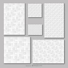 Puzzle Piece Template Gorgeous Puzzle Vectors Photos And PSD Files Free Download