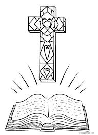 Cross Coloring Page Printable Free Printable Cross Coloring Pages