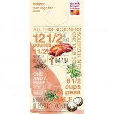 Halcyon Organic Grains  Duck Dog Food - Honest kitchen dog food