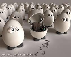 Egg Robot Wallpapers - HD Wallpapers 120