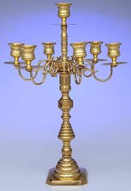 brass candlesticks candelabra 7 light by baldwin brass