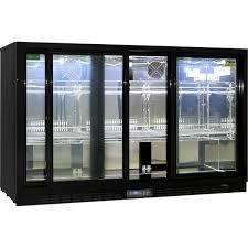 rhino sliding 3 door commercial bar fridge sg3s