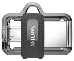 <b>Флешка SanDisk Ultra</b> Dual Drive m3.0 64GB — купить по ...
