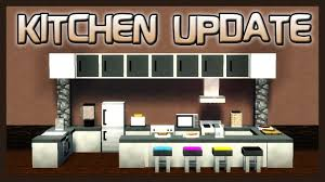Furniture For The Kitchen Mrcrayfishs Furniture Mod Showcase Kitchen Update Youtube