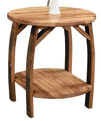 up to 33 off rustic barrel end table