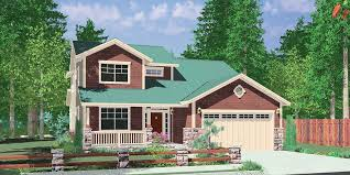 house front color elevation view for 10144 house plans master on the main house plans