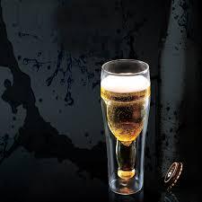 2016 the latest glass beer mugs double wall glass mug double glass beer mug whole